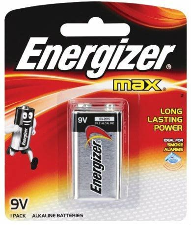 "<span style=""font-weight: bold; color: rgb(67, 99, 216);"">Energizer 9V x 1 Battery</span>"