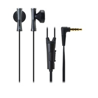 Audio-Technika Juicy Smart Phone headphones with remote controller Black