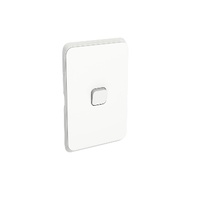 Clipsal Iconic Switch Vert 1G 10AX 250V