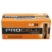 DURACELL AA 1.5V PROCELL BOX 24