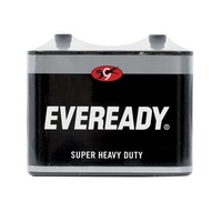 BATTERY 6V X 1 EVEREADY BLACK 1231