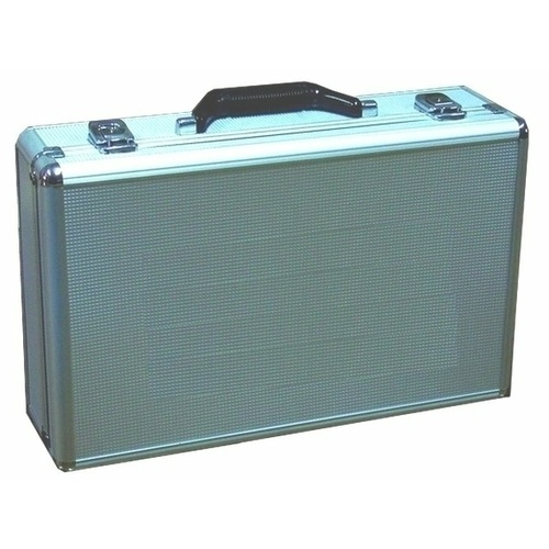 Silver Suitcase Box to suit the UHF2, includes pre-cut foam