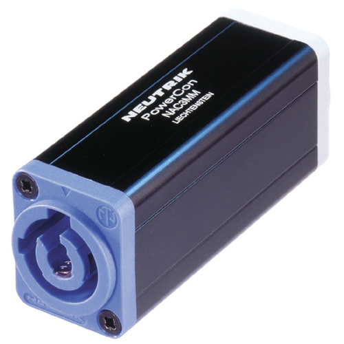 POWERCON LINE COUPLER 20A BLUE-GREY A-B